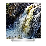 Rootbeer Falls Shower Curtain
