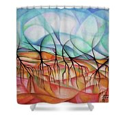 Roots In The Warm Earth Shower Curtain