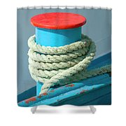Rope Coil Shower Curtain