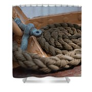 Eagle Shackle And Line Shower Curtain