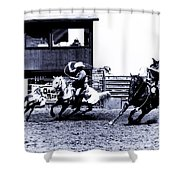 Roping 1 Shower Curtain