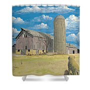 Rorabeck Barn Shower Curtain