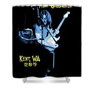 Rory Kent Blues Shower Curtain