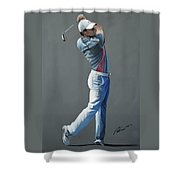 Rory Mcilroy Ddc 2015 Shower Curtain