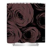 Rosa D'amore Deep Mauve Shower Curtain