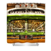 Rosa Parks Bus Dearborn Mi Shower Curtain