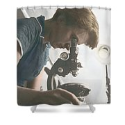 Rosalind Franklin, Crystallographer Shower Curtain