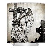 Roscommon Angel No 1 Shower Curtain