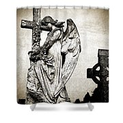 Roscommon Angel No 1 Shower Curtain
