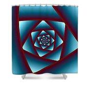Rose 1 Shower Curtain