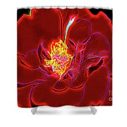 Rose 18-2 Shower Curtain