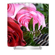 Rose Boquet Shower Curtain