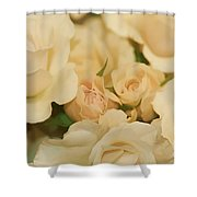 Rose Bouquet Shower Curtain