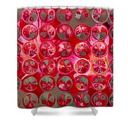 Rose Bubbles Shower Curtain