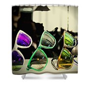 Rose Colored Glasses Shower Curtain