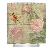Rose Dancer Shower Curtain