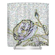 Rose For U Shower Curtain