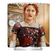 Rose From Titanic Shower Curtain