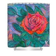 Rose Hope Shower Curtain