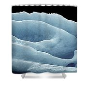 Rose Iceberg Shower Curtain