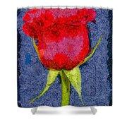 Rose - Id 16236-104956-0793 Shower Curtain