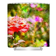 Rose Impression Shower Curtain