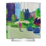 Rose Kennedy Greenway, Boston Shower Curtain