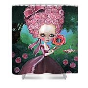 Rose Marie Antoinette Shower Curtain