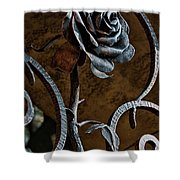 Rose Of Iron Shower Curtain