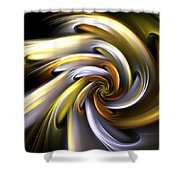 Rose Of Sunlight Shower Curtain