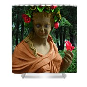 Rose Of The Garden Shower Curtain