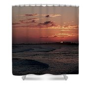 Rose Sunset Shower Curtain