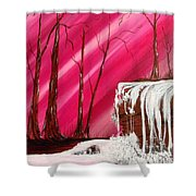 Rose Treasure Shower Curtain by Ginny Youngblood