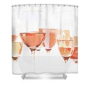 Rose Universe Shower Curtain
