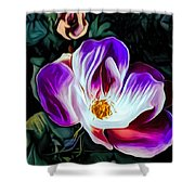 Rose With No Boundaries Shower Curtain