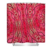 Rose Wood Shower Curtain