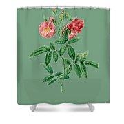 Rose127 Shower Curtain
