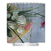 Roses And Chocolate  Shower Curtain