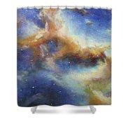 Rosette Nebula Shower Curtain