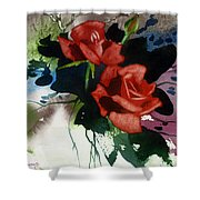 Rosewood Shower Curtain