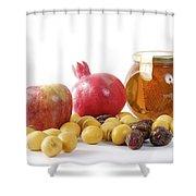 Rosh Hashana Shower Curtain