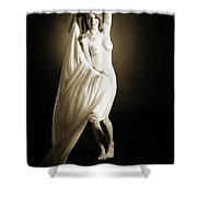 Rosie Nude Fine Art Print In Sensual Sexy 4623.01 Shower Curtain