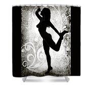 Rosie Nude Fine Art Print In Sensual Sexy 4643.01 Shower Curtain