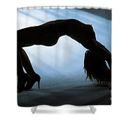 Rosie Nude Fine Art Print In Sensual Sexy Color 4692.02 Shower Curtain