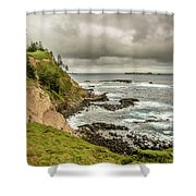 Ross Point 1 Shower Curtain