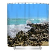 Ross Witham Beach Hutchinson Island Florida Shower Curtain