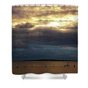Rosses Point Co Sligo Ireland Shower Curtain