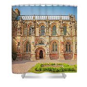 Rosslyn Chapel Panorama Shower Curtain