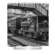 Rosyth No 1 At Furnace Sidings Mono Shower Curtain