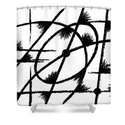 Rotation Axis Shower Curtain